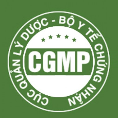 cGMP - Cosmetic Good Manufacturing Practice