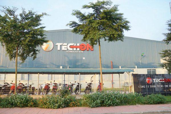 Nhà máy điện tử techon