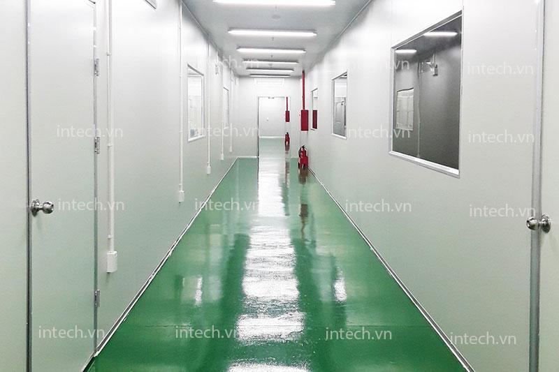 Phòng sạch dược phẩm nhà máy pharvina