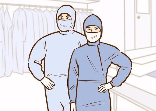 Trang phục bảo hộ trong phòng sạch