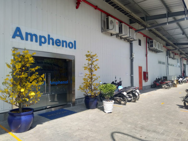 intech - phòng sạch amphernol
