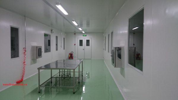 Phòng sạch thực phẩm bảo vệ sức khỏe