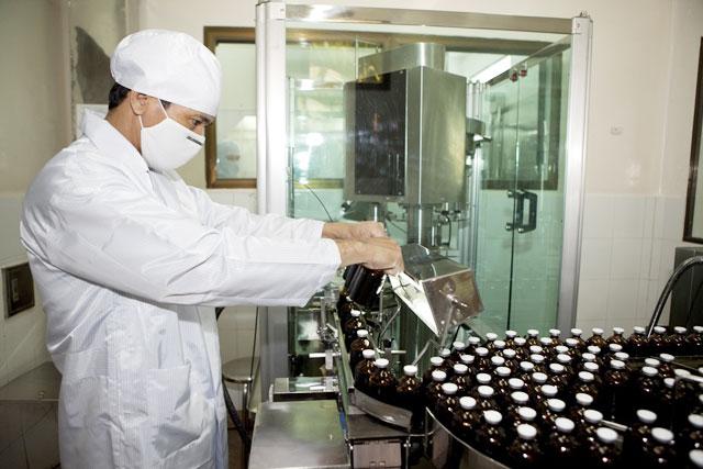 Cơ sở sản xuất thuốc thú y đạt chuẩn GMP