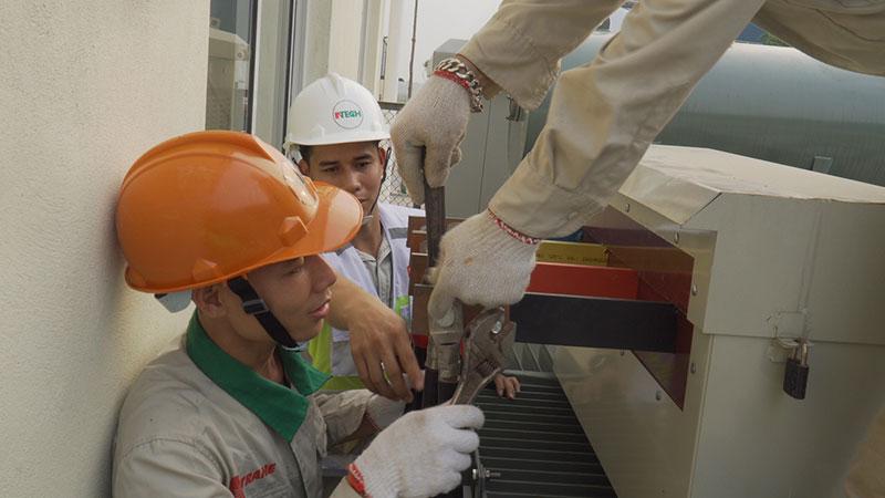 thi công lắp đặt phòng sạch tại Đà Nẵng