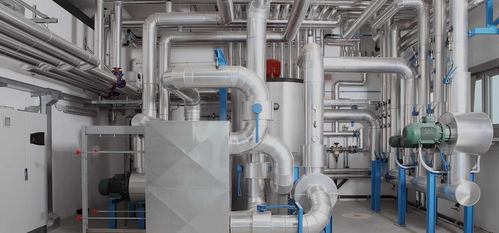 Một phần hệ thống HVAC