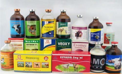 Một số loại thuốc thú y