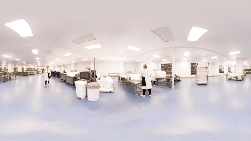 Phòng sạch sản xuất sữa