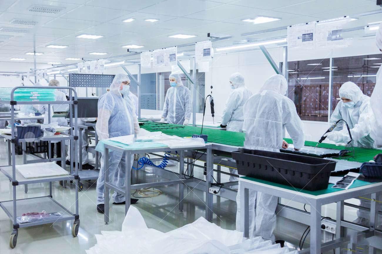 Phòng sạch sản xuất vật tư y tế
