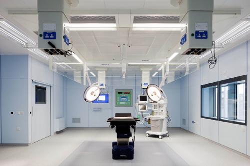 Thi công phòng mổ bệnh viện