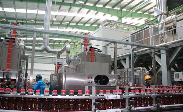 xây dựng nhà máy phòng sạch sản xuất nước giải khát
