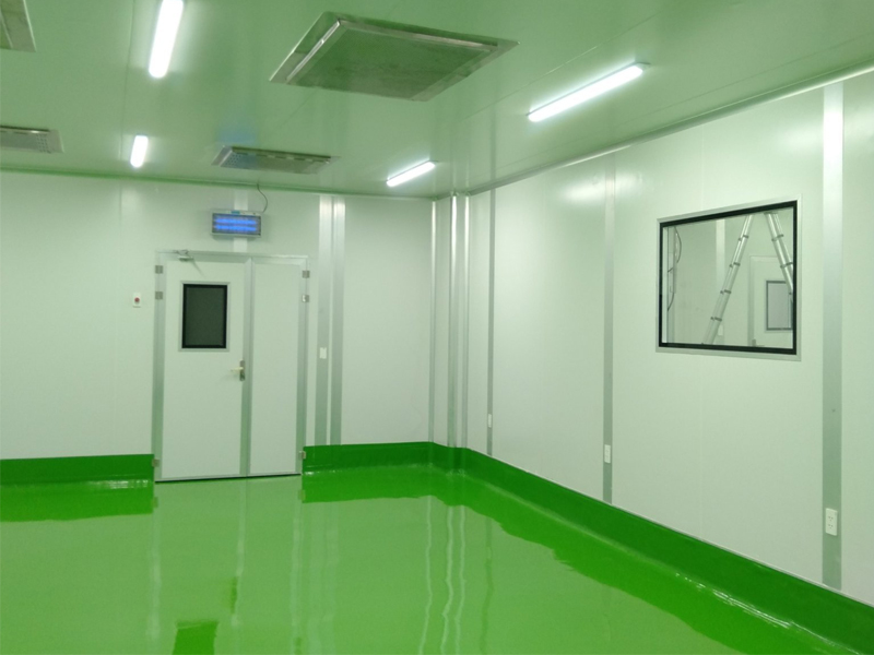 phòng sạch điện tử intech